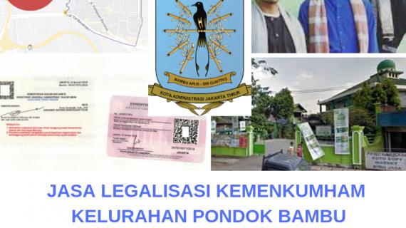 Jasa Legalisir KEMENKUMHAM di Pondok Bambu || 08559910010