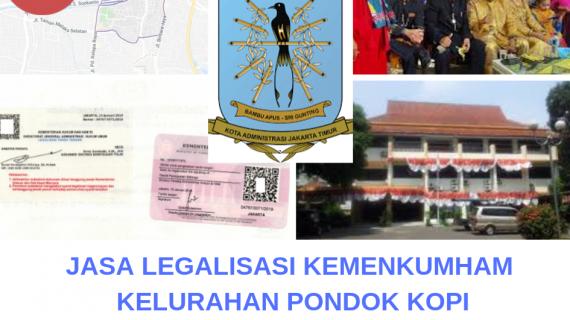 Jasa Legalisir KEMENKUMHAM di Pondok Kopi || 08559910010