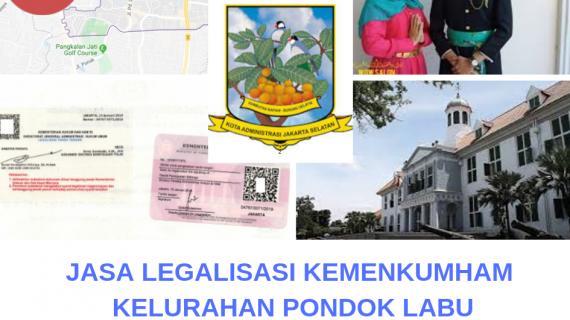 Jasa Legalisir KEMENKUMHAM di Pondok Labu || 08559910010