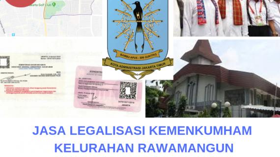 Jasa Legalisir KEMENKUMHAM di Rawamangun || 08559910010