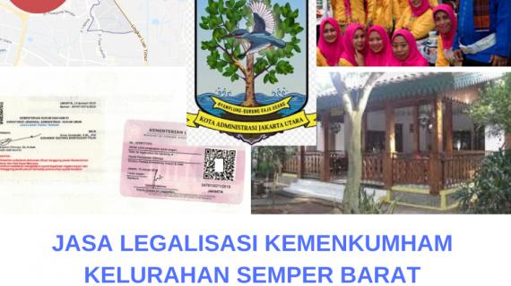 Jasa Legalisir KEMENKUMHAM di Semper Barat    08559910010