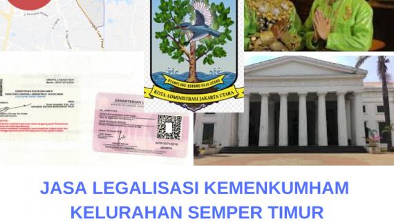 Jasa Legalisir KEMENKUMHAM di Semper Timur    08559910010
