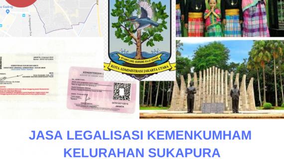 Jasa Legalisir KEMENKUMHAM di Sukapura    08559910010