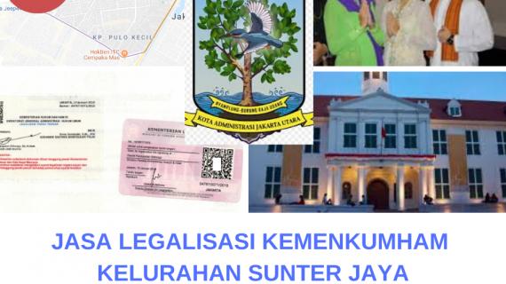 Jasa Legalisir KEMENKUMHAM di Sunter Jaya || 08559910010