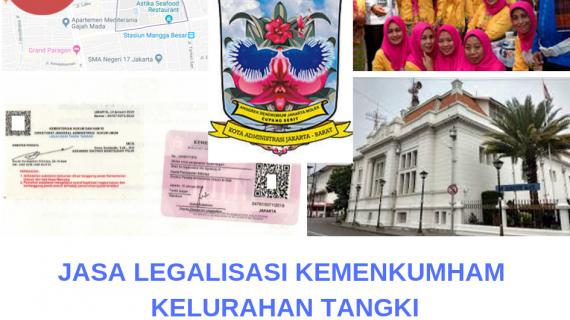 Jasa Legalisir KEMENKUMHAM di Tangki    08559910010