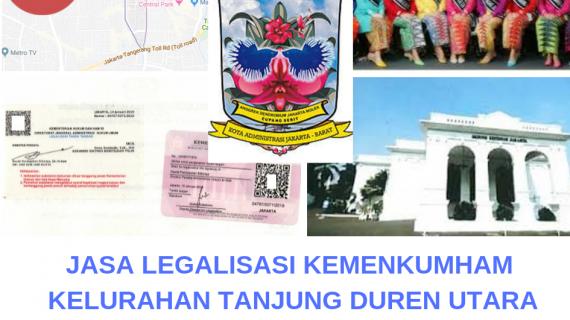 Jasa Legalisir KEMENKUMHAM di Tanjung Duren Utara || 08559910010