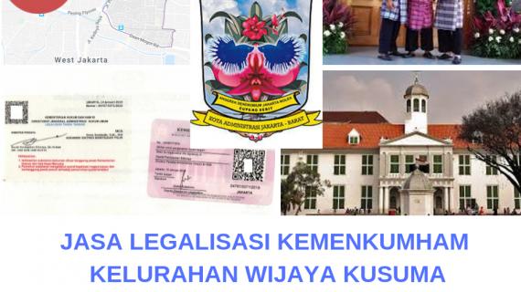 Jasa Legalisir KEMENKUMHAM di Wijaya Kusuma || 08559910010