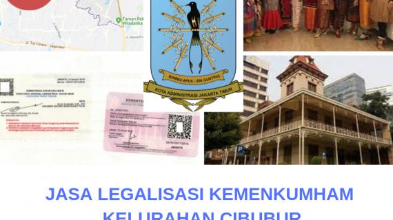 Jasa Legalisir KEMENKUMHAM di Cibubur || 08559910010