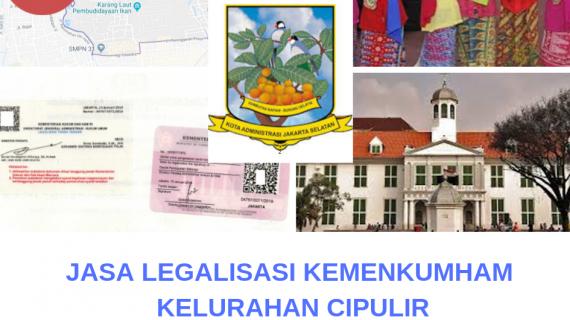 Jasa Legalisir KEMENKUMHAM di Cipulir || 08559910010