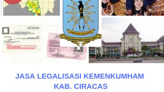 Jasa Legalisir KEMENKUMHAM di Ciracas || 08559910010