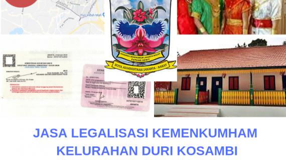 Jasa Legalisir KEMENKUMHAM di Duri Kosambi || 08559910010