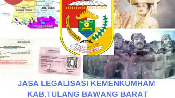 Jasa Legalisir KEMENKUMHAM di Kabupaten Tulang Bawang Barat    08559910010