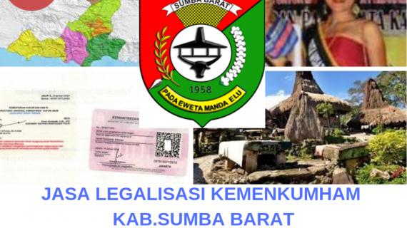 Jasa Legalisir KEMENKUMHAM di Kabupaten Sumba Barat || 08559910010