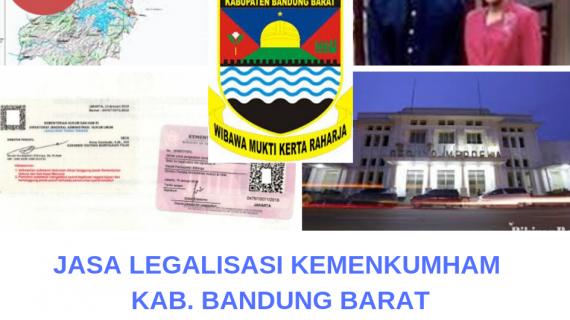 Jasa Legalisir KEMENKUMHAM di Kabupaten Bandung Barat || 08559910010