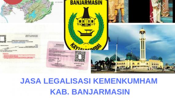 Jasa Legalisir KEMENKUMHAM di Kota Banjarmasin || 08559910010