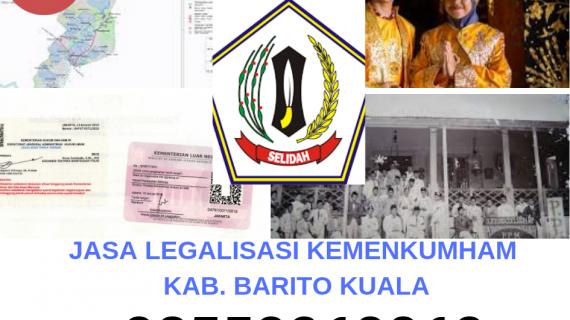 Jasa Legalisir KEMENKUMHAM di Kabupaten Barito Kuala || 08559910010