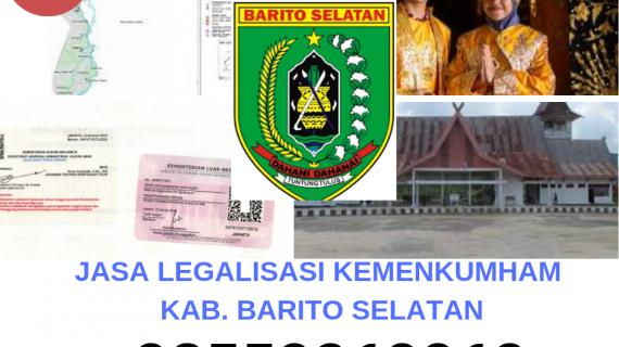 Jasa Legalisir KEMENKUMHAM di Kabupaten Barito Selatan || 08559910010