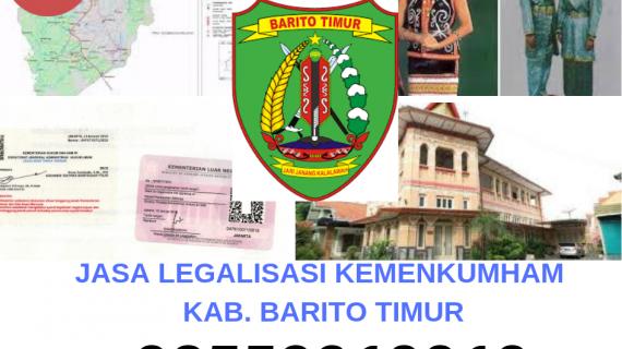 Jasa Legalisir KEMENKUMHAM di Kabupaten Barito Timur || 08559910010