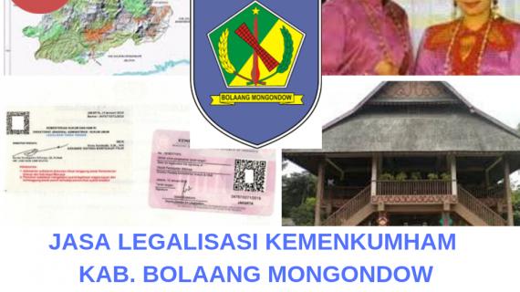 Jasa Legalisir KEMENKUMHAM di Kabupaten Bolaang Mongondow    08559910010