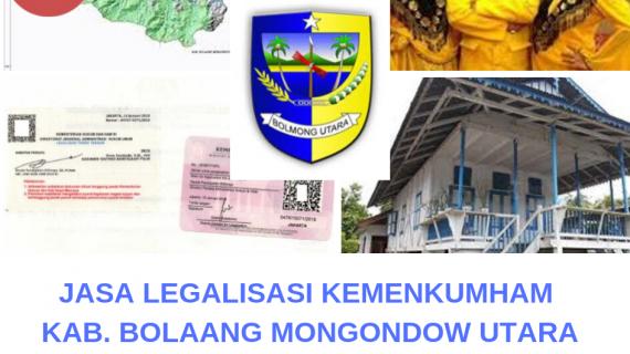 Jasa Legalisir KEMENKUMHAM di Kabupaten Bolaang Mongondow Utara || 08559910010