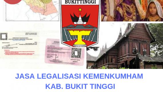 Jasa Legalisir KEMENKUMHAM di Kota Bukittinggi || 08559910010