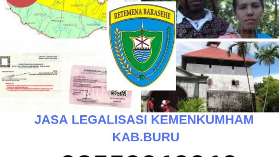 Jasa Legalisir KEMENKUMHAM di Kabupaten Buru || 08559910010