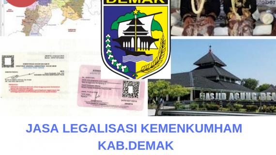 Jasa Legalisir KEMENKUMHAM di Kabupaten Demak || 08559910010