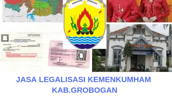 Jasa Legalisir KEMENKUMHAM di Kabupaten Grobogan || 08559910010
