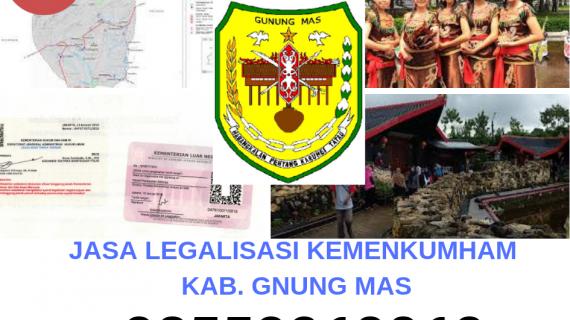 Jasa Legalisir KEMENKUMHAM di Kabupaten Gunung Mas || 08559910010