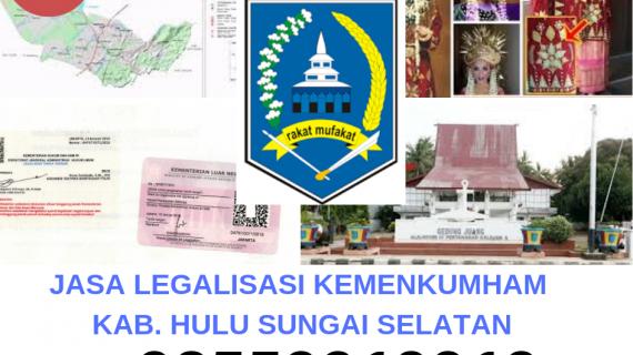 Jasa Legalisir KEMENKUMHAM di Kabupaten Hulu Sungai Selatan || 08559910010