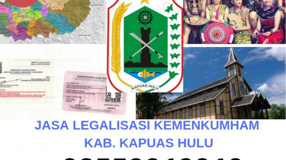 Jasa Legalisir KEMENKUMHAM di Kabupaten Kapuas Hulu || 08559910010