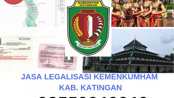 Jasa Legalisir KEMENKUMHAM di Kabupaten Katingan || 08559910010