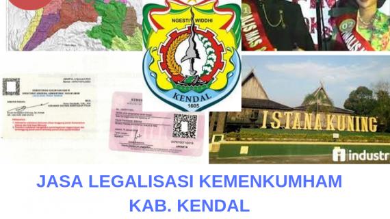 Jasa Legalisir KEMENKUMHAM di Kabupaten Kendal    08559910010