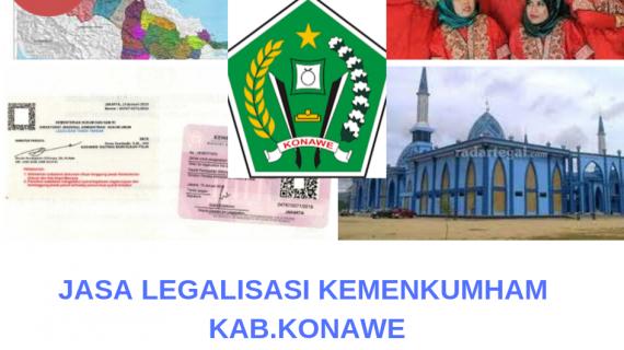 Jasa Legalisir KEMENKUMHAM di Kabupaten Konawe || 08559910010