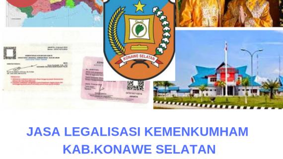 Jasa Legalisir KEMENKUMHAM di Kabupaten Konawe Selatan || 08559910010