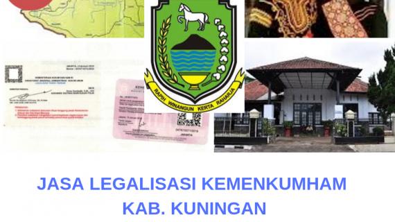 Jasa Legalisir KEMENKUMHAM di Kabupaten Kuningan    08559910010