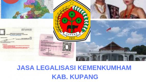 Jasa Legalisir KEMENKUMHAM di Kabupaten Kupang || 08559910010
