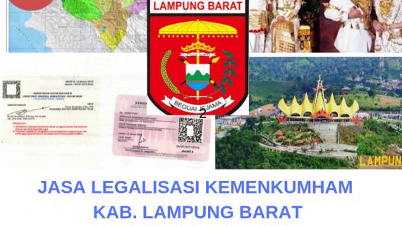 Jasa Legalisir KEMENKUMHAM di Kabupaten Lampung Barat || 08559910010