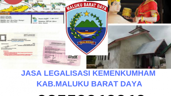Jasa Legalisir KEMENKUMHAM di Kabupaten Maluku Barat Daya || 08559910010