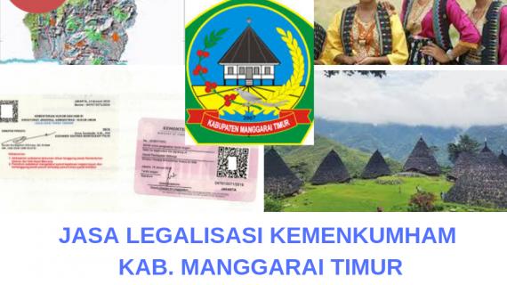 Jasa Legalisir KEMENKUMHAM di Kabupaten Manggarai Timur || 08559910010