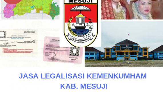 Jasa Legalisir KEMENKUMHAM di Kabupaten Mesuji    08559910010