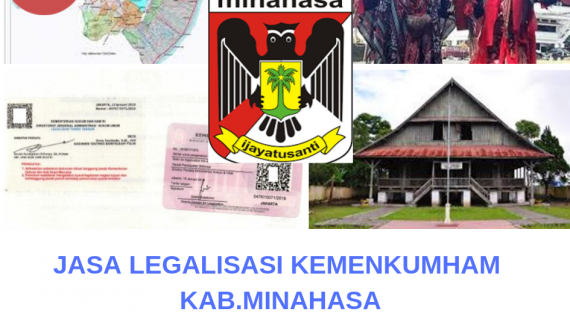 Jasa Legalisir KEMENKUMHAM di Kabupaten Minahasa || 08559910010