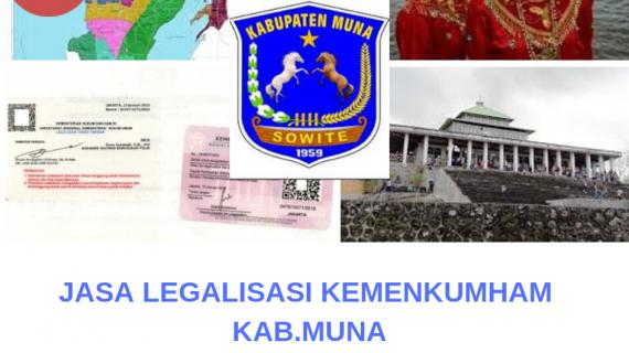 Jasa Legalisir KEMENKUMHAM di Kabupaten Muna || 08559910010