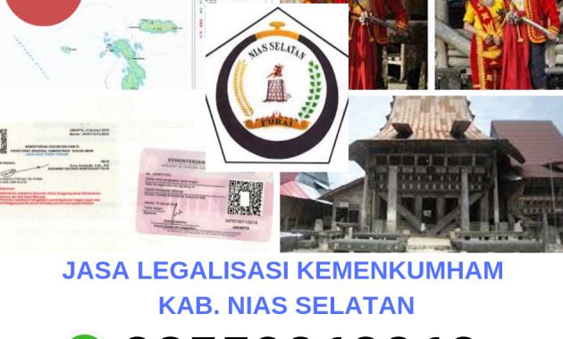 Jasa Legalisir Kemenkumham Di Kabupaten Nias Selatan 08559910010 Jasa Legalisir Com