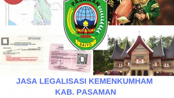 Jasa Legalisir KEMENKUMHAM di Kabupaten Pasaman || 08559910010