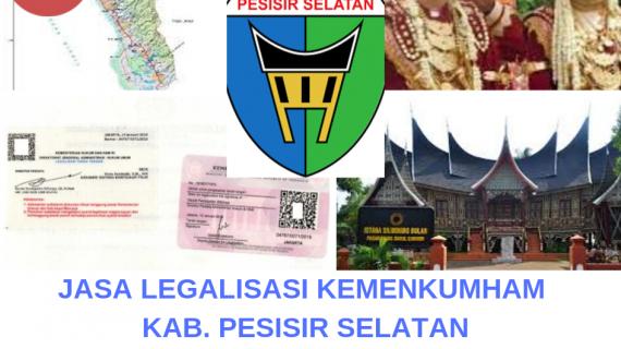 Jasa Legalisir KEMENKUMHAM di Kabupaten Pesisir Selatan || 08559910010