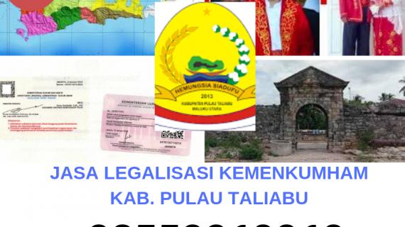 Jasa Legalisir KEMENKUMHAM di Kabupaten Pulau Taliabu || 08559910010