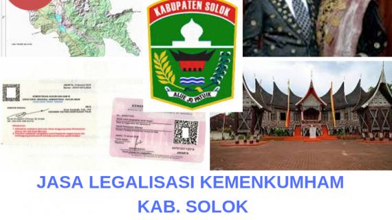 Jasa Legalisir KEMENKUMHAM di Kabupaten Solok || 08559910010