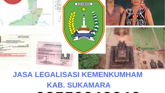 Jasa Legalisir KEMENKUMHAM di Kabupaten Sukamara || 08559910010