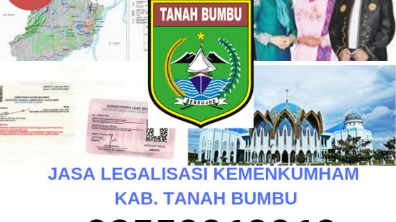 Jasa Legalisir KEMENKUMHAM di Kabupaten Tanah Bumbu